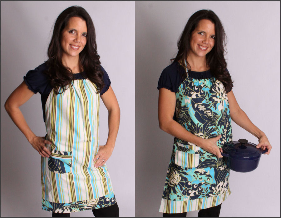 ray aprons, new york city aprons, apron pattern, red apron