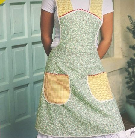 kitchen apron, novelty aprons for men, vintage apron, free vintage apron patterns