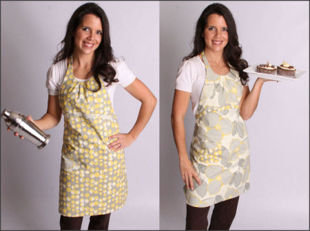 work aprons, lace aprons, personalized aprons, work aprons