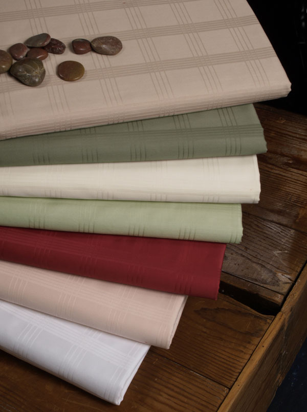 wedding table linens, linen table cloths, linens and table skirting, vintage tablecloths