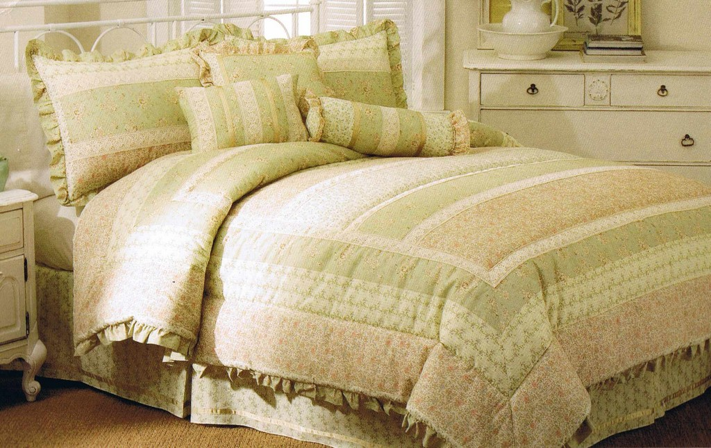 bed comforters, vintage drapes, wool blankets, tablecloths