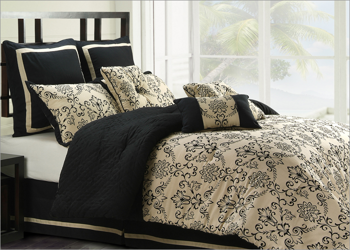 luxury comforters set, luxury comforters, boy comforters, blue brown comforters