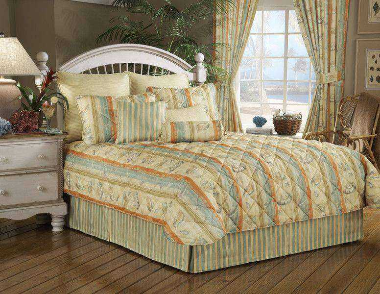 tropical comforters, washing down comforters, king comforters, bed in a bag comforters set