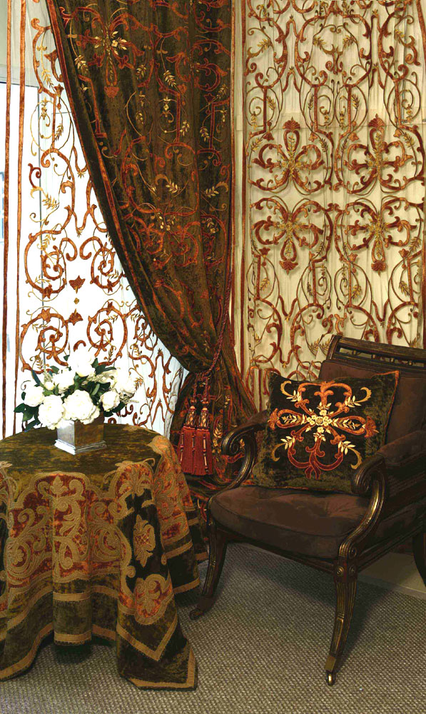 curtain panels, curtain ideas, boat window curtains, beaded window curtains