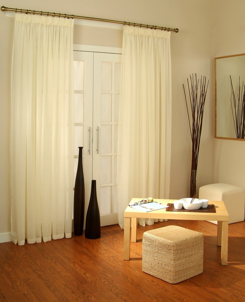 pleated drapes, sheer drapes, pottery barn velvet drapes, silk drapes
