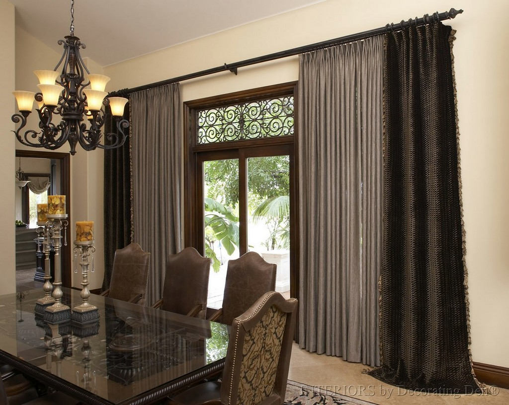 wrought iron curtain rods, kitchen curtains chintz, damask stripe curtain, swag curtains