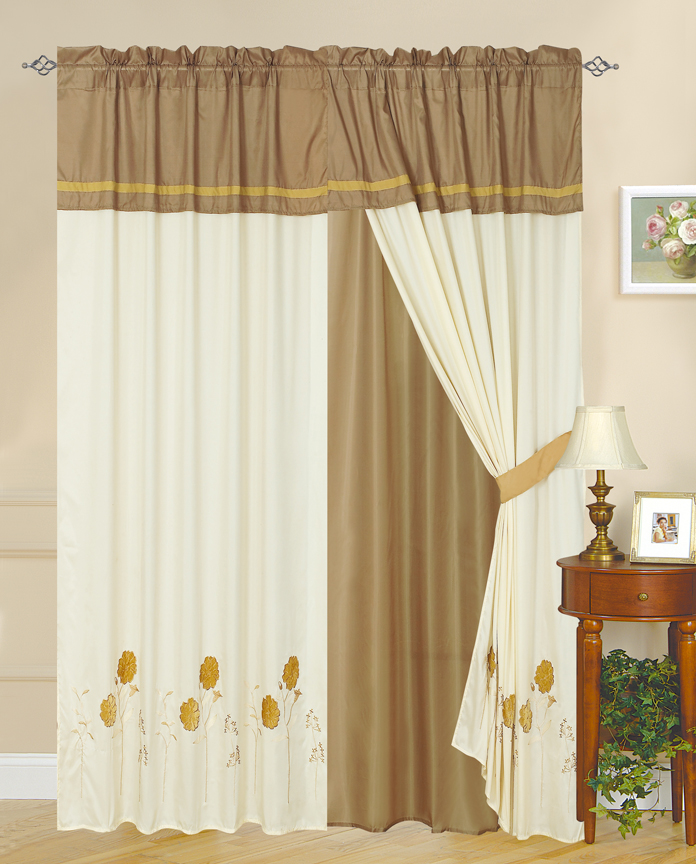 custom drapes, patio door drapes, pottery barn silk drapes, blue drapes