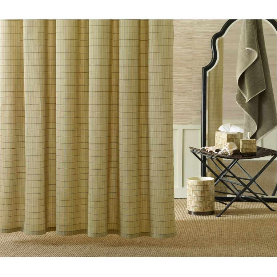 striped drapes, living room drapes, green drapes, toile drapes