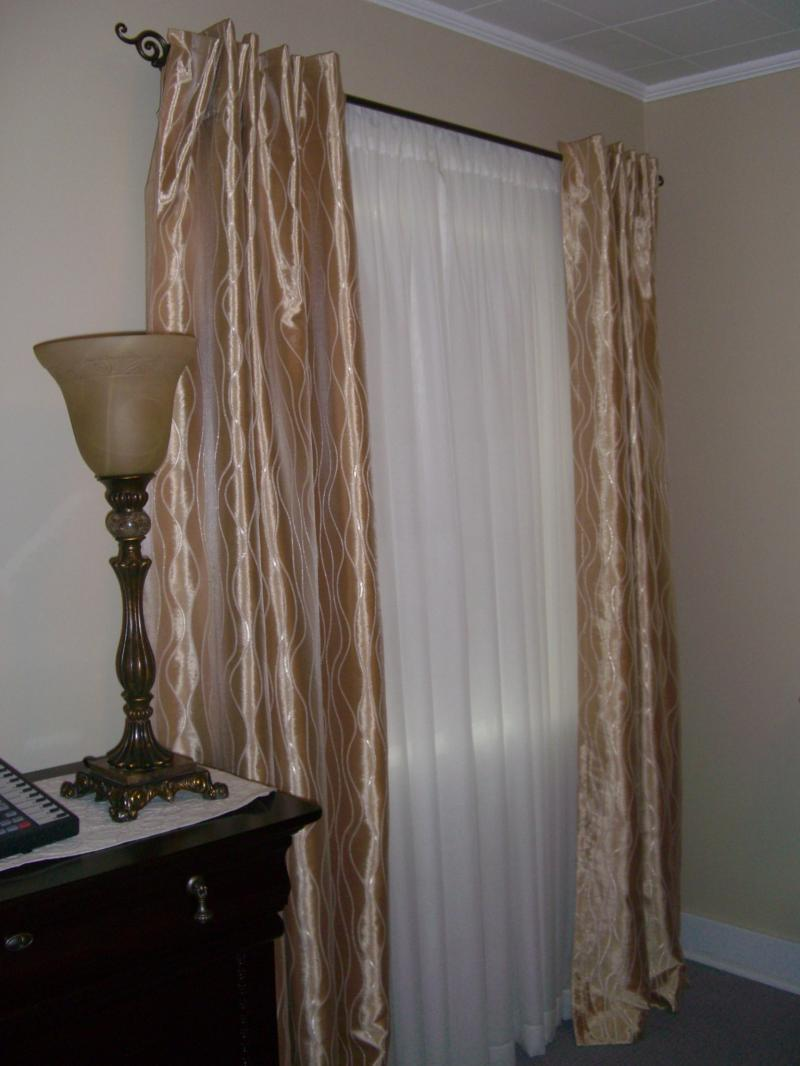 grey window curtains and scarves, curtain, window curtains gothic, linen window curtains