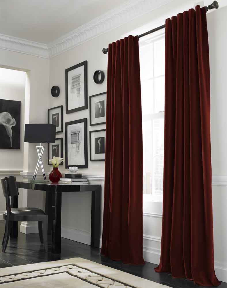 blackout curtain, blackout curtains, wrinkled window curtains, curtain ideas