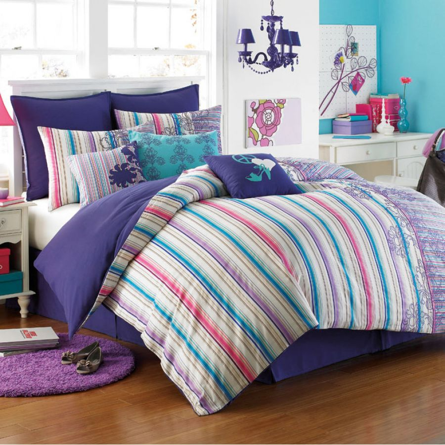 girls twin bedding, princess bedding, luxury bedding, geometric bedding