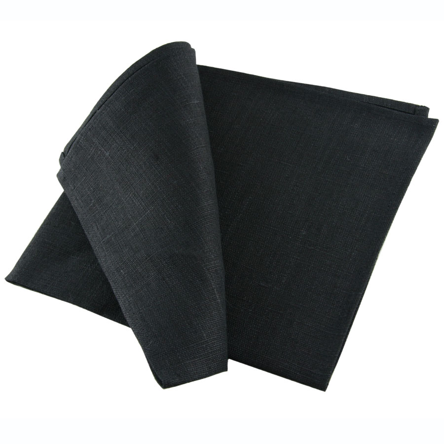 vintage linen damask tablecloth, black linen, irish linen, irish linen