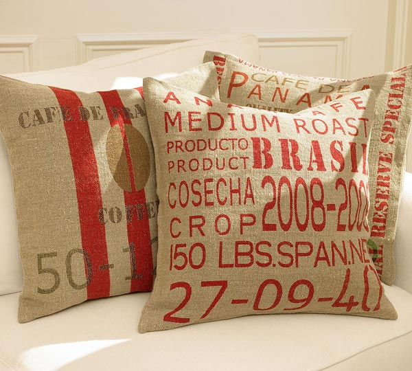 decorative pillows, carpet tiles, comforters, bedspreads and comforters