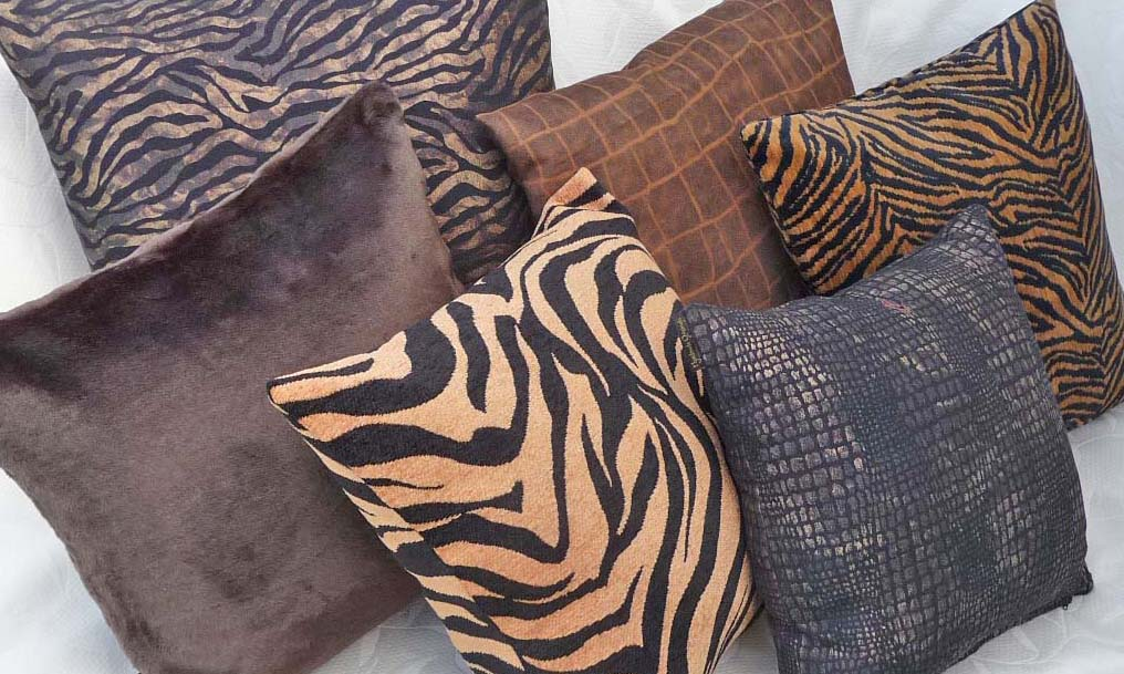 queen pillows, leather pillows, cowhide and leather pillows, bedroom pillows