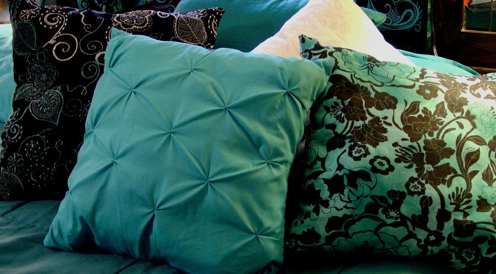 artesia neutral accent pillows, down pillows, pillow, patterns for attaching silk petals to accent pillows