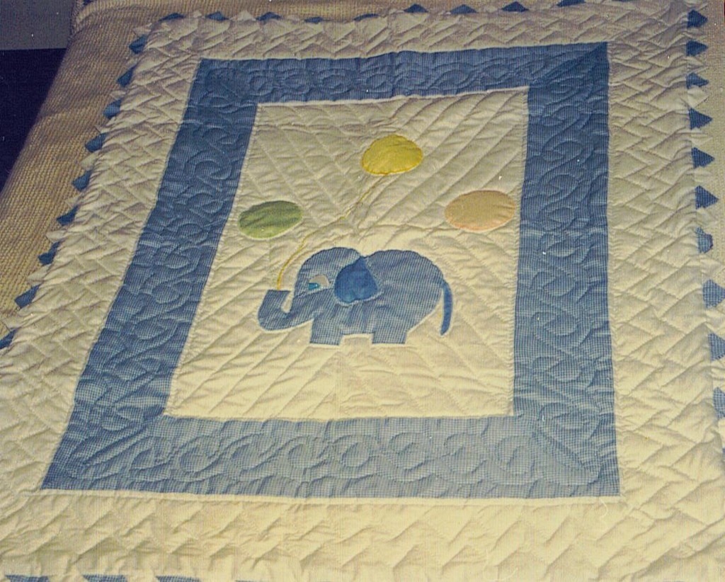 handmade baby quilts, necktie quilts, quilts for kids, art quilts