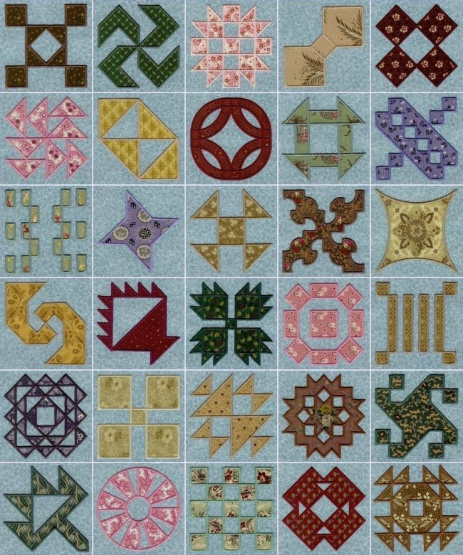 necktie quilts, patchwork quilts, crayon quilts, log cabin quilts