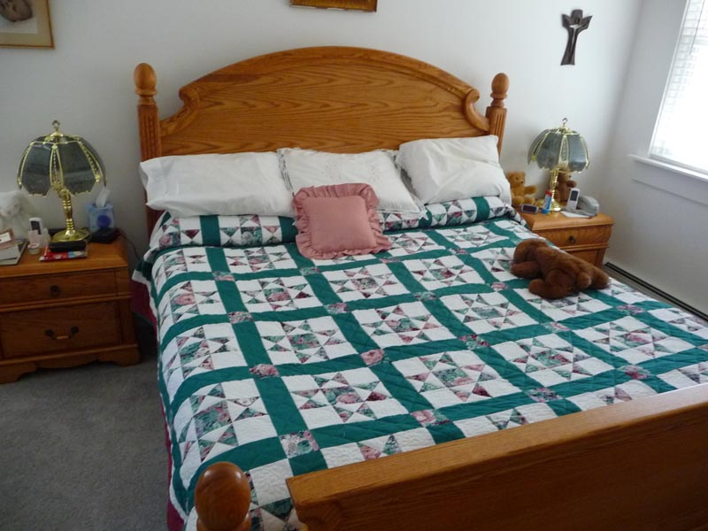 beach towels, waterbed sheets, linen, antique quilts