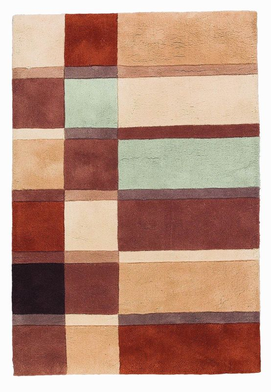 8x10 area rug, horse area rug, green area rug, brown area rug