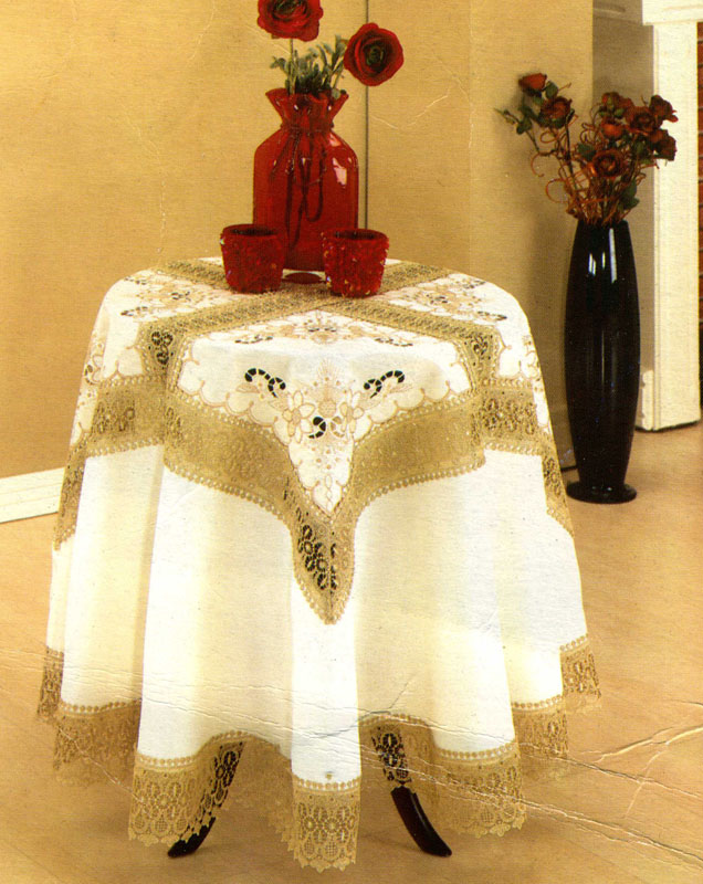 wedding reception table linens, royal palm table linens, lace tablecloths, april cornell table linens