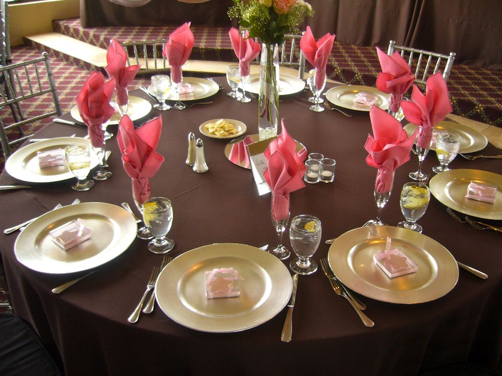 designer table linens