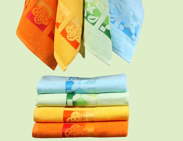 wearing towels, kitchen dish towels, in our towels, wholesale cheap colored bath towels