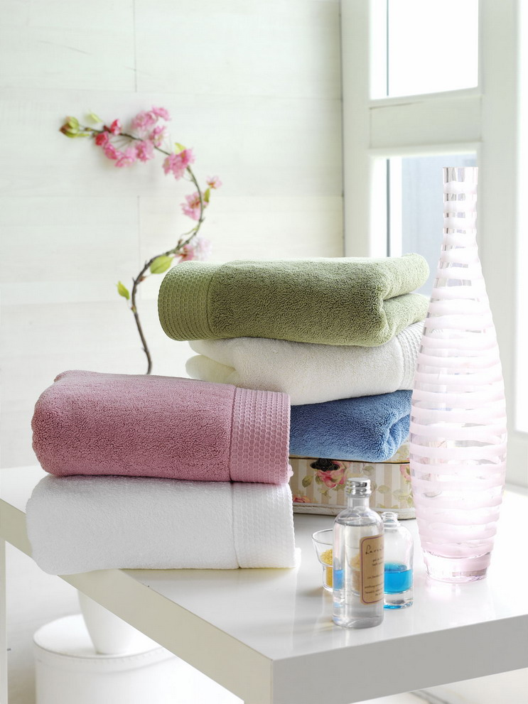 beach towels, towel, wholesale home basic bath towels, multifold towels